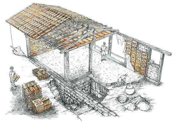 forschungsprojekt r mische baukeramik und ziegelstempel schaubild r mische ziegel. Black Bedroom Furniture Sets. Home Design Ideas